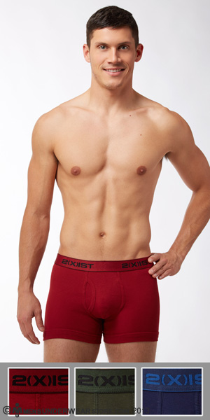 2XIST Essential 3-Pack Boxer Brief
