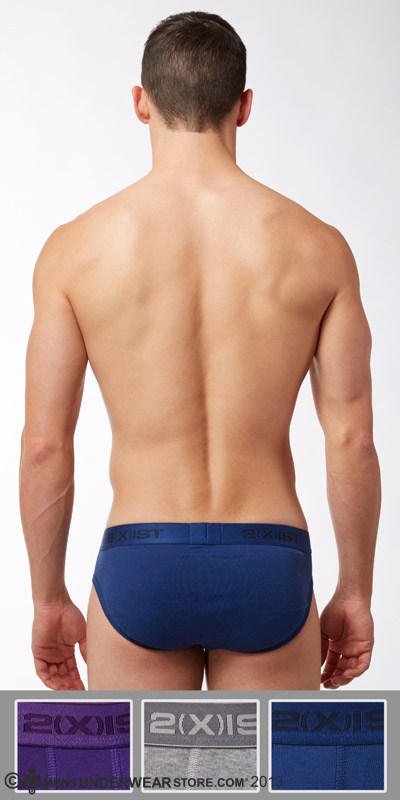 2XIST Essential 3-Pack No Show Brief