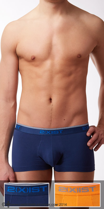 2XIST Stretch  2-Pack No Show Trunks