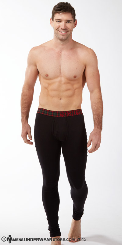 2XIST Tartan Long Johns