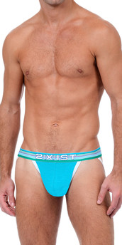 2XIST Beach Stripe Jock Strap