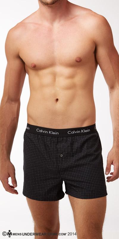 Calvin Klein Slim Fit Woven Boxers