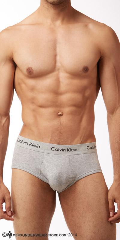 Calvin Klein Cotton Stretch 2-Pack Hip Briefs