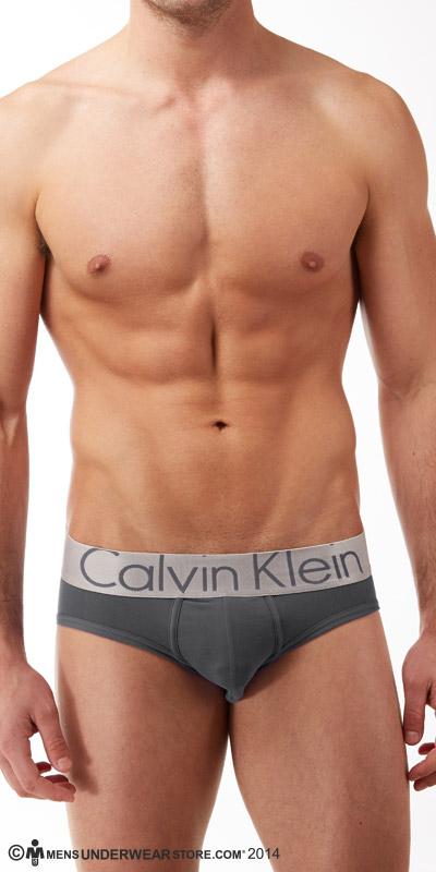 Calvin Klein Steel Micro Hip Briefs