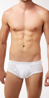 Calvin Klein Cotton Classics 4-Pack Basic Briefs