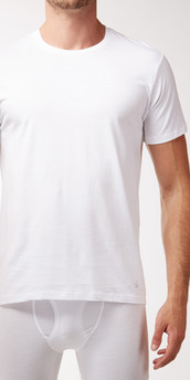 Calvin Klein Cotton Classics 3-Pack Short Sleeve Crew Neck T-Shirt