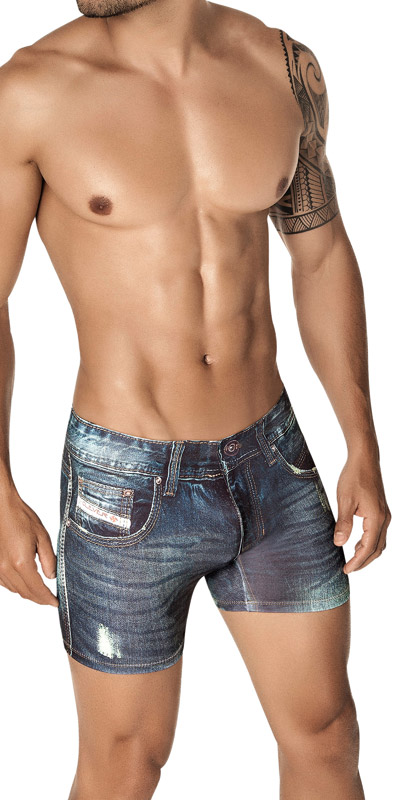 Clever Denim Jean Boxers