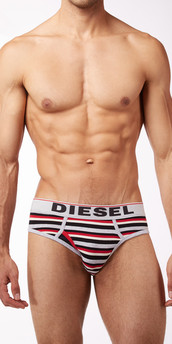 Diesel Stripes Blade Briefs