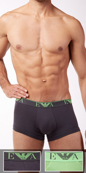 Emporio Armani 2-Pack Stretch Cotton Trunks
