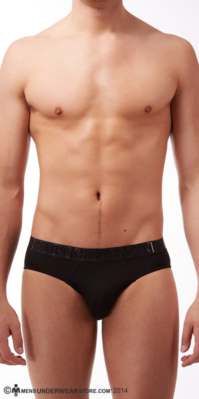 Emporio Armani Yarn-Dyed Briefs