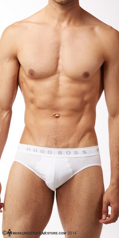 HUGO BOSS Perfect Cotton Mini Brief 3-Pack