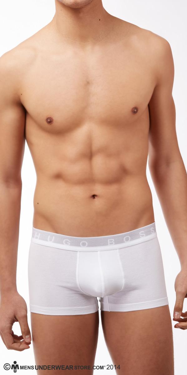 HUGO BOSS MOTION Stretch Cotton Boxer Trunk