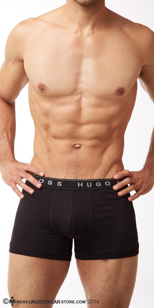 HUGO BOSS Perfect Cotton Boxer Briefs 3-Pack