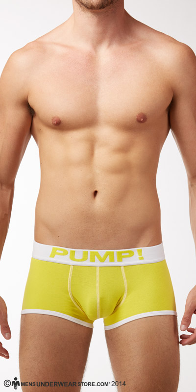 PUMP! Neon Fuel Yellow Boxers