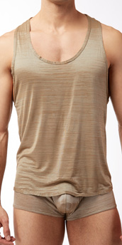 Male Power Rayon Swag Tank Top