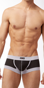 Male Power Athletic Mesh Mini Short