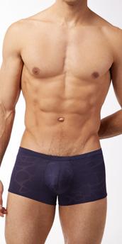 Male Power Nylon Burnout Pouch Short