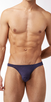 Male Power Nylon Burnout Wonder Thong