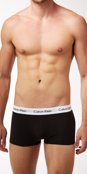 Calvin Klein Cotton Stretch 3-Pack Trunks