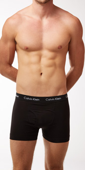 Calvin Klein Cotton Stretch 3-Pack Fly Front Trunk