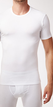 Calvin Klein Cotton Stretch 2-Pack Short Sleeve Crew
