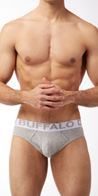 Buffalo Cotton Stretch 2-Pack Briefs
