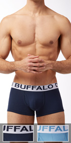 Buffalo Cotton Stretch 2-Pack Trunks