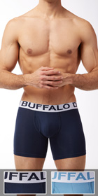 Buffalo Cotton Stretch 2-Pack Boxer Briefs