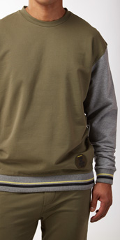 Diesel Cotton Lounge Jorgie Sweat Shirt