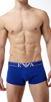 Emporio Armani Pop Logo Stretch Cotton Trunk