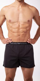 Emporio Armani Woven Cotton Boxers