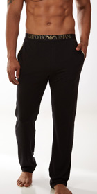 Emporio Armani Cotton Modal Pants