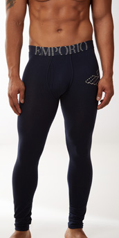 Emporio Armani Eagle Stretch Cotton Leggings