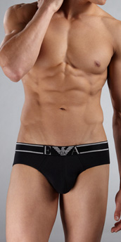 Emporio Armani Soft Cotton Brief