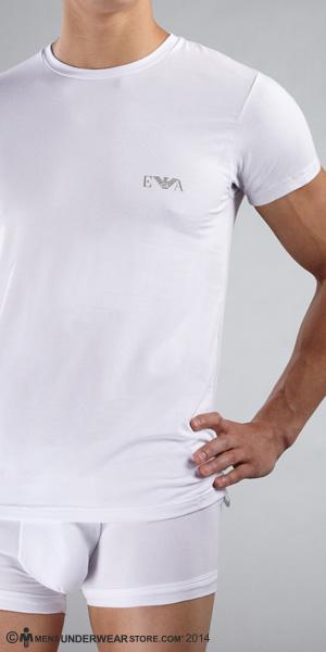Emporio Armani Soft Cotton Crew