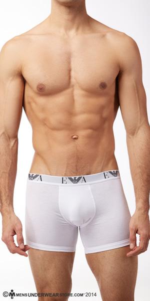 Emporio Armani Genuine Cotton 3-Pack Boxer