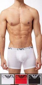 Emporio Armani 3-Pack Genuine Cotton Boxer Brief