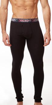 2XIST Tartan Long Underwear