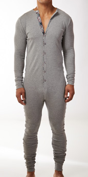 2XIST Tartan Union Suit