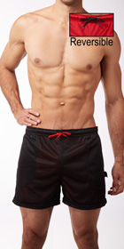 Whittall & Shon Reversible Mesh Shorts